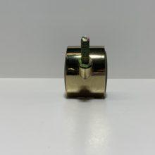 Plastic Castor Gold