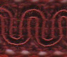 Scroll Gimp J20 Dark Claret