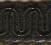 Scroll Gimp L52 Black Olive