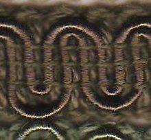 Scroll Gimp L79 Loden Green