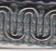 Scroll Gimp M45 French Blue