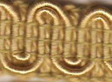 Scroll Gimp D01 Champagne