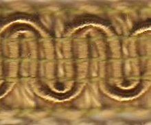 Scroll Gimp D25 Gold