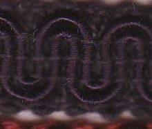 Scroll Gimp H13 Black Rum