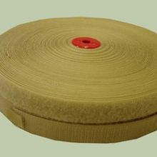 Hook and Loop Velcro 25mm Beige