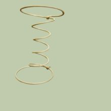 Coil Spring 9 Guage 18cm height