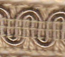 Scroll Gimp C02 Oatmeal