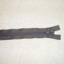 Zipper : Grey No-5 Open End 65cm